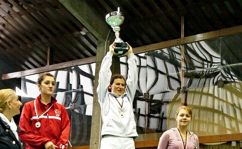 Линда Зечири с купата София 2011