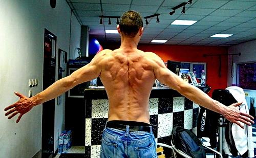 Милко на 35 години с релефен гръб