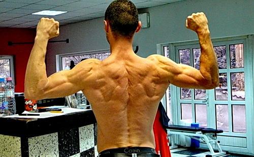 Милко Георгиев показва релеф при 3% мазнини в тялото