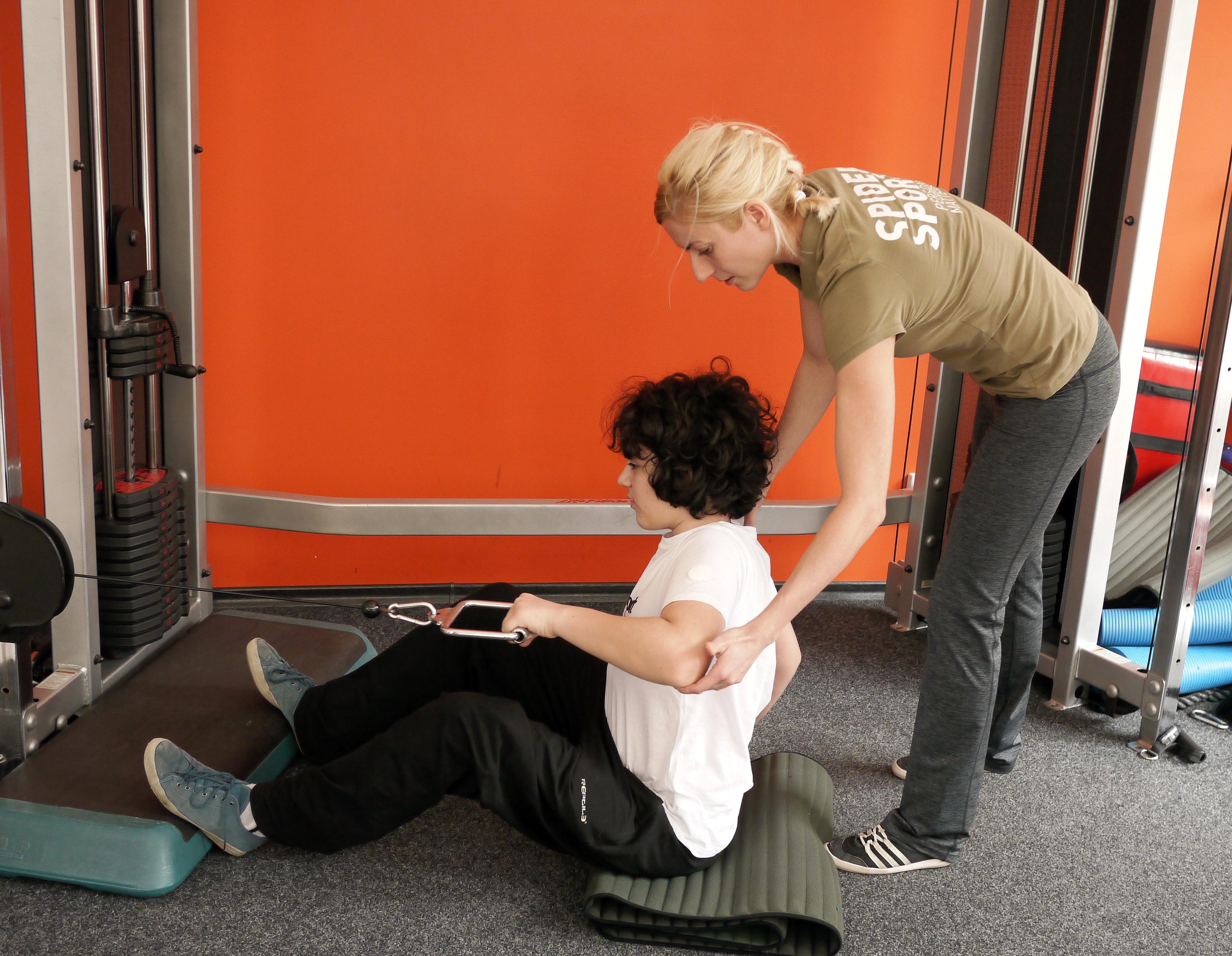 Рехабилитация на деца с гръбначни изкривявания