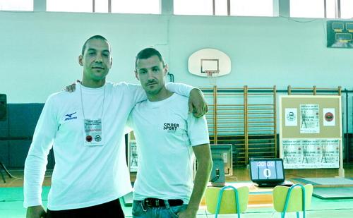 Юри Атанасов и Милко Георгиев в Хърватска 2011