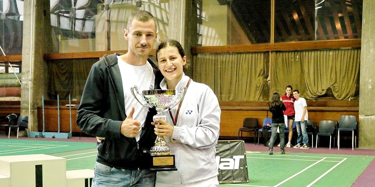 Милко Георгиев и Линда Зечири - шампион на сингъл от Международен турнир София 2011