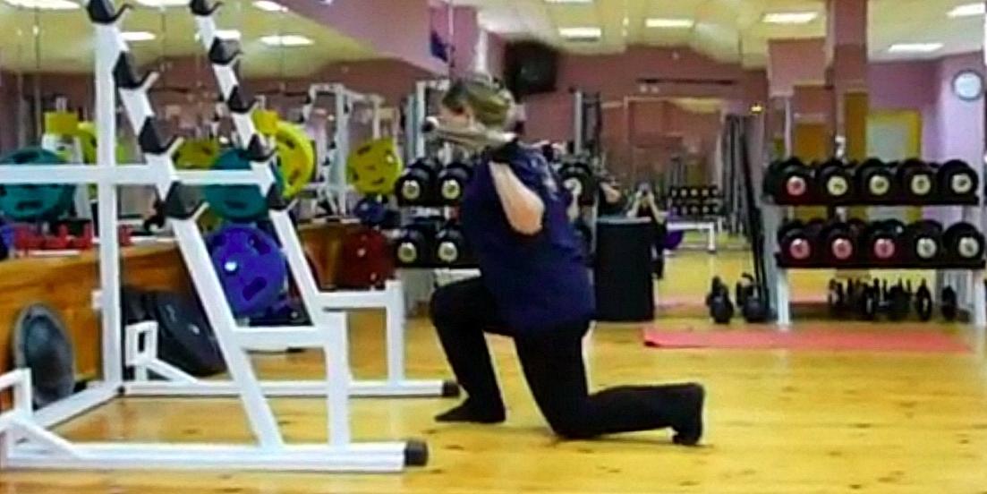 Напредък след драстично обездвижване и липса на физическа култура