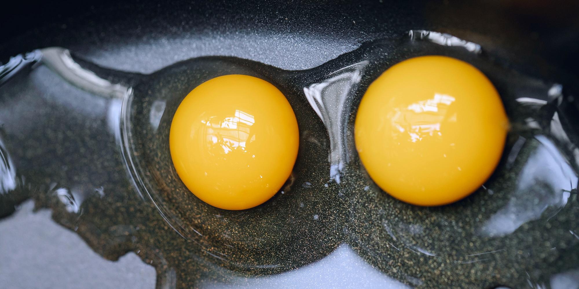 Яйца в тиган